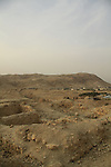 Jericho, the southern Tel of Tulul Abu el-Alayiq, overlooking Herod's palace near the entrance of Wadi Qelt