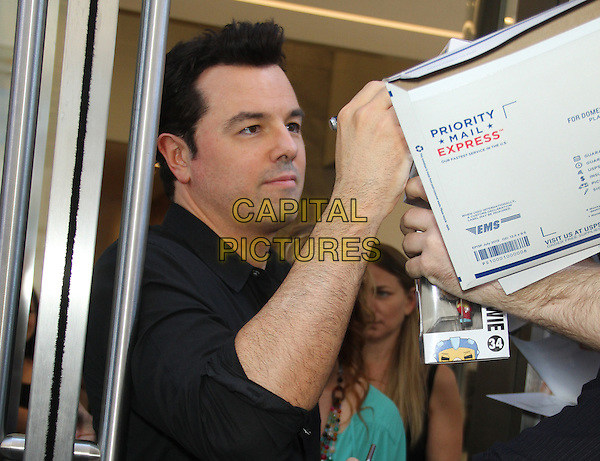 NEW YORK, NY - JUNE 22: Seth MacFarlane  at the Howard Stern Show promoting  Ted 2 in New York City on June 22, 2015. <br /> CAP/MPI/RW<br /> &copy;RW/MPI/Capital Pictures