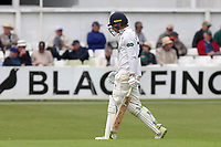 Daniel Lawrence of Essex leaves the field having been dismissed for 20 during Worcestershire CCC vs Essex CCC, Specsavers County Championship Division 1 Cricket at Blackfinch New Road on 11th May 2018