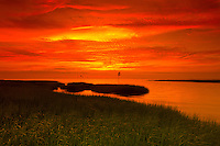 Sunset at Rock Harbor, Orleans, Cape Cod, Massachusetts, USA