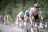 Jasper Philipsen (BEL/UAE - Emirates)<br /> <br /> Dwars door het Hageland 2019 (1.1)<br /> 1 day race from Aarschot to Diest (BEL/204km)<br /> <br /> ©kramon