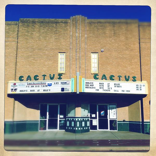 Americana.<br /> <br /> The Cactus Theatre, Lubbock, Texas.