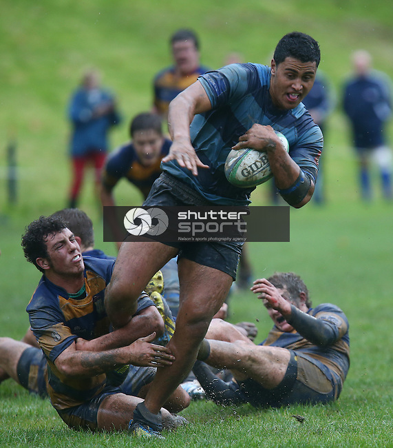 Nelson College v Roncalli College, Press Cup, 24 May 2014, Nelson, New Zealand<br /> Photo: Evan Barnes/shuttersport.co.nz