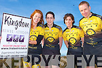 KINGDOM JEWEL-ATHLON: Launching the Tralee Triathlon Club Kingdom Jewel-athlon in support of Banna Sea Rescue to be held on Saturday the 9th of April at Banna Strand at 2pm l-r: Lorraine O'Halloran, Alison Reidy, Marie-Louise Sheehy and Fergus McCarthy...