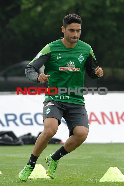 25.07.2013, Sportplatz, Blankenhain, GER, 1.FBL, Trainingslager Werder Bremen 2013, im Bild Mehmet Ekici (Bremen #10)<br /> <br /> Foto &copy; nph / Frisch