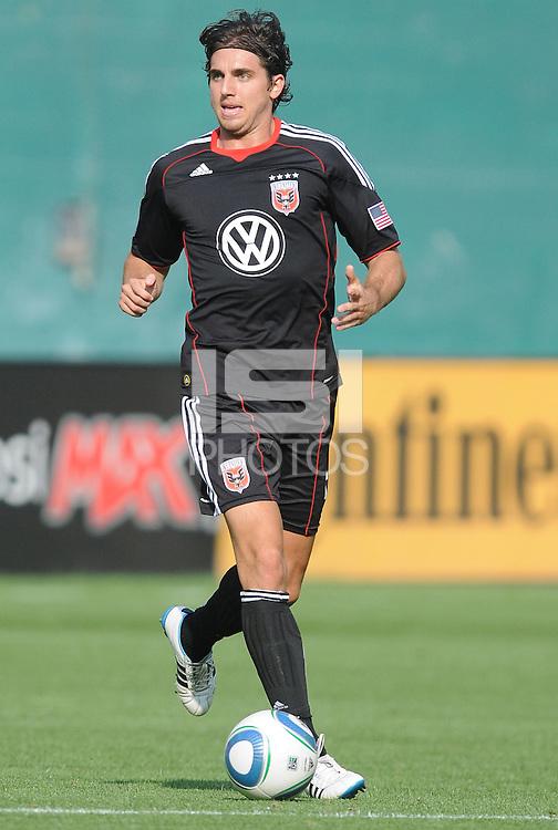 D.C. United defender Dejan Jakovic (5)  File photo RFK stadium 2011 season.