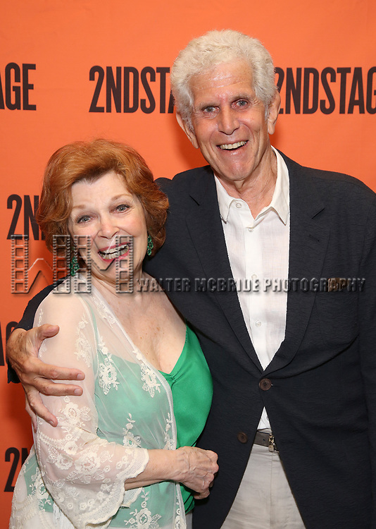 Anita Gillette and Tony Roberts attend the Opening Night Party for 'A Parallelogram'  on August 2, 2017 at Havana Central in New York City.