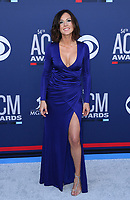 07 April 2019 - Las Vegas, NV - Amanda Shires. 54th Annual ACM Awards Arrivals at MGM Grand Garden Arena. Photo Credit: MJT/AdMedia<br /> CAP/ADM/MJT<br /> &copy; MJT/ADM/Capital Pictures
