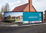 Landex Goldmsiths housing development, Crown Nursery, Ufford, Suffolk, England, UK