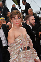 """CANNES, FRANCE. May 24, 2019: Milla Jovovich at the gala premiere for """"Sybil"""" at the Festival de Cannes.<br /> Picture: Paul Smith / Featureflash"""