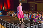Kerry rose Juliet Murphy on the cat walk at the Kerry Hospice fashion show in the INEC on Wednesday night