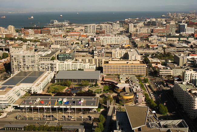 Moscone Center and surrounding area, San Francisco