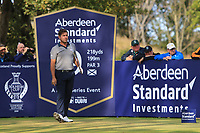 Robert Rock (ENG) on the 9th during Round 2 of the Aberdeen Standard Investments Scottish Open 2019 at The Renaissance Club, North Berwick, Scotland on Friday 12th July 2019.<br /> Picture:  Thos Caffrey / Golffile<br /> <br /> All photos usage must carry mandatory copyright credit (© Golffile | Thos Caffrey)