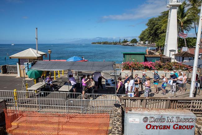 Security Checks At Lahaina Harbor