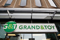A Grand & Toy store is pictured in Ottawa Tuesday April 24, 2012. Grand & Toy is a Canadian office supplies chain founded in 1882 and now a subsidiary of OfficeMax.