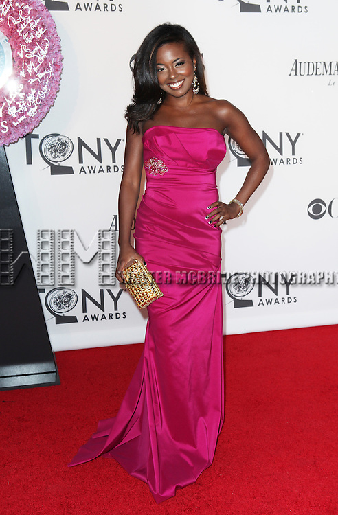 Adrienne Warren pictured at the 66th Annual Tony Awards held at The Beacon Theatre in New York City , New York on June 10, 2012. © Walter McBride / WM Photography
