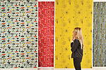 "Pictured: Gallery visitor Maisie Marshall admires colourful textiles on display as part of the Lucienne Day exhibition in Basingstoke.  <br /> <br /> A collection of work by one of Britain's most pioneering post-war textile designers is currently on display at The Willis Museum and Sainsbury Gallery in Basingstoke.<br /> <br /> The exhibition, titled Lucienne Day: Living Design, brings together more than 70 works drawn from the archives of The Robin and Lucienne Day Foundation and includes hanging textiles, furnishings, dress designs and ceramics.<br /> <br /> One of the stand-out designs from the exhibition is ""Calyx"", a large scale abstract pattern, which proved to be a breakthrough for Lucienne Day's career, gaining her recognition and success.  The Calyx design has sold in large quantities since its creation and has been widely emulated by other designers across the globe.    <br /> <br /> The exhibition runs until 11th January, 2020.<br /> <br /> © Morten Watkins/Solent News & Photo Agency<br /> UK +44 (0) 2380 458800"