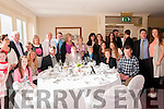 Sr.Eileen Kiely. Tarbert celebrating 80th birthday with family and friends at the Listowel  Arms Hotel on Saturday  last.