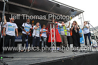 Peoples March for the NHS - Central London, Saturday 6th Sept 2014 - <br /> <br /> The 300 mile marcher's <br /> <br /> <br /> <br /> <br /> Photographer: Jeff Thomas - Jeff Thomas Photography - 07837 386244/07837 216676 - www.jaypics.photoshelter.com - swansea1001@hotmail.co.uk