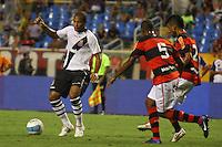 RIO DE JANEIRO, RJ, 22 DE FEVEREIRO 2012 - CAMPEONATO CARIOCA - SEMIFINAL - TAÇA GUANABARA - VASCO X FLAMENGO - Fellipe Bastos, jogador do Vasco, durante partida contra o Flamengo, pela semifinal da Taça Guanabara, no estádio Engenhão, na cidade do Rio de Janeiro, nesta quarta-feira, 22. FOTO: BRUNO TURANO – BRAZIL PHOTO PRESS.