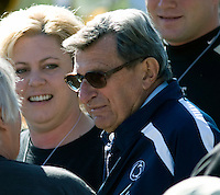 October 03, 2008: Penn State head coach Joe Paterno. The Penn State Nittany Lions defeated the Purdue Boilermakers 20-06 on October 03, 2008 at Ross-Ade Stadium, West Lafayette, Indiana.