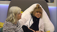 Ann Widdecombe, Amanda Barrie<br /> Celebrity Big Brother 2018 - Day 7<br /> *Editorial Use Only*<br /> CAP/KFS<br /> Image supplied by Capital Pictures