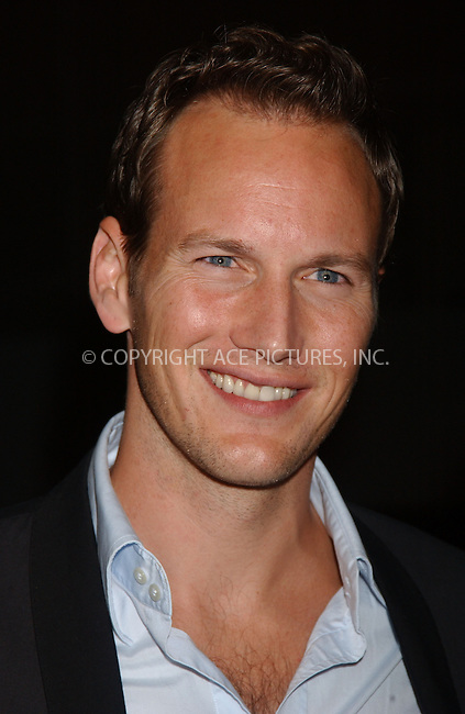 WWW.ACEPIXS.COM . . . . . ....September 30, 2006, New York City. ....Patrick Wilson attends the 'Little Children' Premiere during the 44th New York Film Festival.....Please byline: KRISTIN CALLAHAN - ACEPIXS.COM.. . . . . . ..Ace Pictures, Inc:  ..(212) 243-8787 or (646) 769 0430..e-mail: info@acepixs.com..web: http://www.acepixs.com