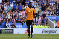 Willy Boly of Wolverhampton Wanderers during Leicester City vs Wolverhampton Wanderers, Premier League Football at the King Power Stadium on 11th August 2019