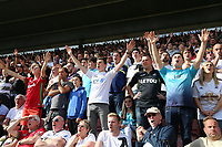Swansea supporters during the Premier League match between Southampton and Swansea City at the St Mary's Stadium, Southampton, England, UK. Saturday 12 August 2017