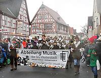 Musikzug der SG Weiterstadt - Büttelborn 11.02.2018: Rosensonntagsumzug der BCA
