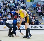 ROTTERDAM  - NK Zaalhockey . finale dames hoofdklasse: hdm-Laren 2-1. hdm landskampioen.scheidsrechter  Claire Druijts     .  COPYRIGHT KOEN SUYK