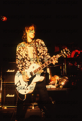 GUNS N' ROSES -  performing live at the Rock City in Nottingham UK - 05 Oct 1987.  Photo credit: George Chin/IconicPix