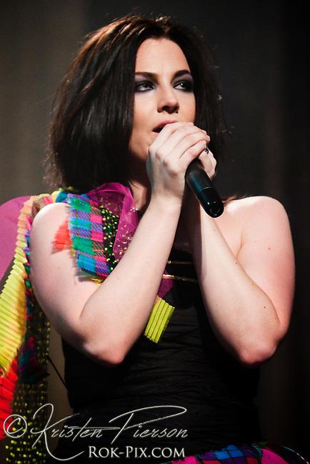 Evanescence Secret Show in New York City November 4, 2009