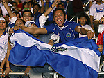 El Salvador fans on Tuesday, March 27th, 2007 at SAS Stadium in Cary, North Carolina. The Honduras Men's National Team defeated El Salvador 2-0 in a men's international friendly.
