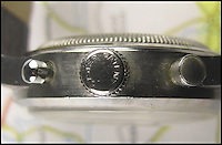 BNPS.co.uk (01202 558833)<br /> Pic: BourneEnd/BNPS<br /> <br /> ***Please use full byline***<br /> <br /> A Rolex watch worn by a British prisoner of war during the infamous 'Great Escape' attempt is tipped to sell for &pound;30,000.<br /> <br /> Despite being held in the Stalag Luft III camp in Germany, Flight Lieutenant Gerald Imeson was still able to order and take delivery of a brand new watch in 1942.<br /> <br /> The famous Swiss watchmaker had offered all British officers one of their timepieces to replace the ones seized by the Germans and they could be paid for after the war.<br /> <br /> F/Lt Imeson helped dig the three tunnels for the audacious escape attempt of 1944.