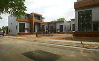 NWA Democrat-Gazette/BEN GOFF @NWABENGOFF<br /> A view of the Tourmaline Urban Lofts Thursday, May 18, 2017, which are nearing completion on Southeast D Street in Bentonville's Market District.