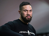11th September 2017, London, England; Joseph Parker Training Session; Joseph Parker during a training session in London ahead of his WBO heavyweight boxing title defence