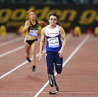 Sophie  Kamlish GBR Winner 100m Women Paralympic   <br /> Roma 02-06-2016 Stadio Olimpico.<br /> IAAF Diamond League 2016<br /> Atletica Legera <br /> Golden Gala Meeting - Track and Field Athletics Meeting<br /> Foto Cesare Purini / Insidefoto