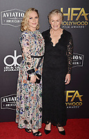 BEVERLY HILLS, CA - NOVEMBER 04: Annie Starke (L) and Glenn Close arrive at the 22nd Annual Hollywood Film Awards at the Beverly Hilton Hotel on November 4, 2018 in Beverly Hills, California.<br /> CAP/ROT/TM<br /> &copy;TM/ROT/Capital Pictures