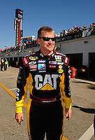 Feb 08, 2009; Daytona Beach, FL, USA; NASCAR Sprint Cup Series driver Jeff Burton during qualifying for the Daytona 500 at Daytona International Speedway. Mandatory Credit: Mark J. Rebilas-
