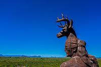 Estatua danzante Yaqui, Obregon