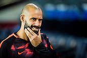 12th September 2017, Camp Nou, Barcelona, Spain; UEFA Champions League Group stage, FC Barcelona versus Juventus; Javier Mascherano of FC Barcelona on the sidelines