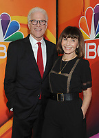 NEW YORK, NY - MAY 09: Ted Danson and Mary Steenburgen attends the 2019/2020 NBC Upfront presentation at the    Fourr Seasons Hotel on May 13, 2019in New York City.  <br /> CAP/MPI/JP<br /> ©JP/MPI/Capital Pictures