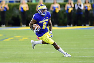 Newark, DE - OCT 29, 2016: Delaware Fightin Blue Hens wide receiver Jamie Jarmon (6) in action during game between Towson and Delaware at Delaware Stadium Tubby Raymond Field in Newark, DE. (Photo by Phil Peters/Media Images International)