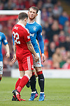 Ryan Jack and Joe Garner clash