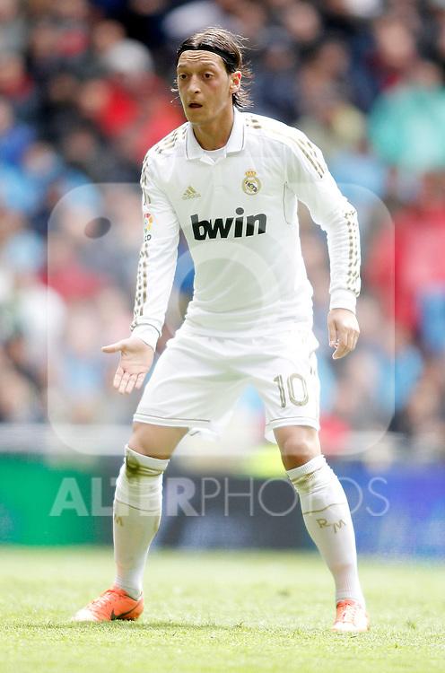Real Madrid's Mesut Özil during La Liga match. April 29, 2012. (ALTERPHOTOS/Alvaro Hernandez)