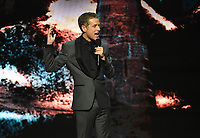 LOS ANGELES- DECEMBER 12: Host Geoff Keighley speaks onstage at the Game Awards 2019 at the Microsoft Theater on December 12, 2019 in Los Angeles, California. (Photo by Frank Micelotta/PictureGroup)