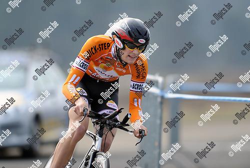 2012-04-03 / Wielrennen / seizoen 2012 / PK Tijdrijden Antwerpen / Janssens Michiel..Foto: Mpics.be