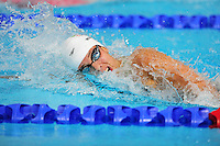 Wales' Rachel Williams competes in the women's 4x200m freestyle final <br /> <br /> Photographer Chris Vaughan/CameraSport<br /> <br /> 20th Commonwealth Games - Day 3 - Saturday 26th July 2014 - Swimming - Tollcross International Swimming Centre - Glasgow - UK<br /> <br /> © CameraSport - 43 Linden Ave. Countesthorpe. Leicester. England. LE8 5PG - Tel: +44 (0) 116 277 4147 - admin@camerasport.com - www.camerasport.com