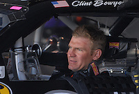 Mar 30, 2007; Martinsville, VA, USA; Nascar Nextel Cup Series driver Clint Bowyer (07) during practice for the Goody's Cool Orange 500 at Martinsville Speedway. Martinsville marks the second race for the new car of tomorrow. Mandatory Credit: Mark J. Rebilas